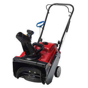 Toro  PowerClear 518  18 in. W 99 cc Single-Stage  Electric Start  Snow Blower