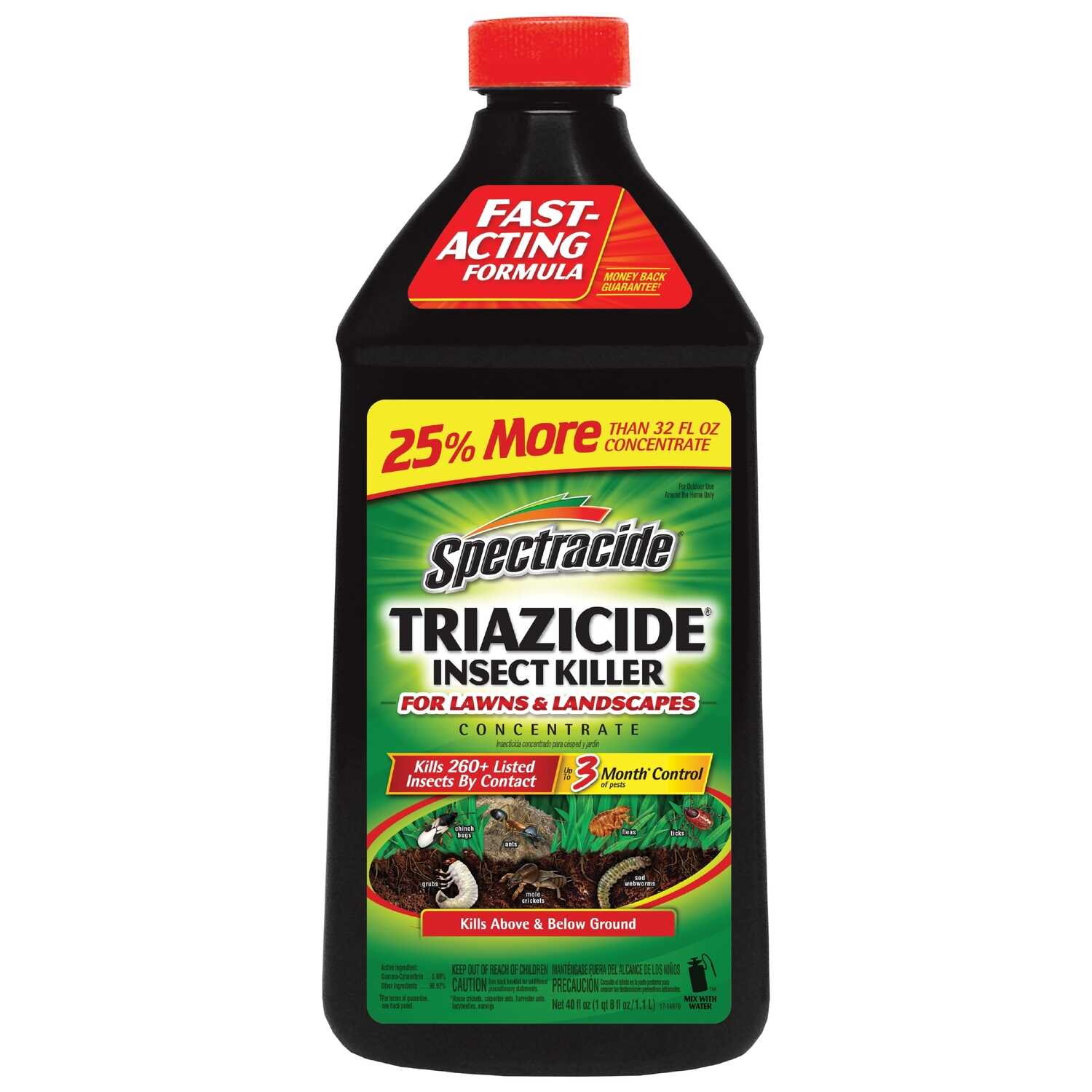 Spectracide  Triazicide  Insect Killer  40 oz.