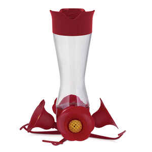 Perky-Pet  Hummingbird  8  Glass  4 ports Nectar Feeder