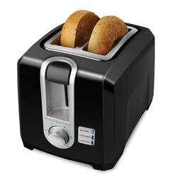 Black and Decker  Metal  Black  2 slot Toaster  13 in. H x 8 in. W x 12.79 in. D