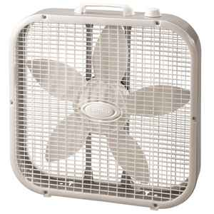 Lasko  20 in. 3 speed Electric  Box Fan