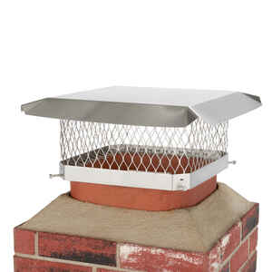 Hy-C  Galvanized  Stainless Steel  Chimney Cover