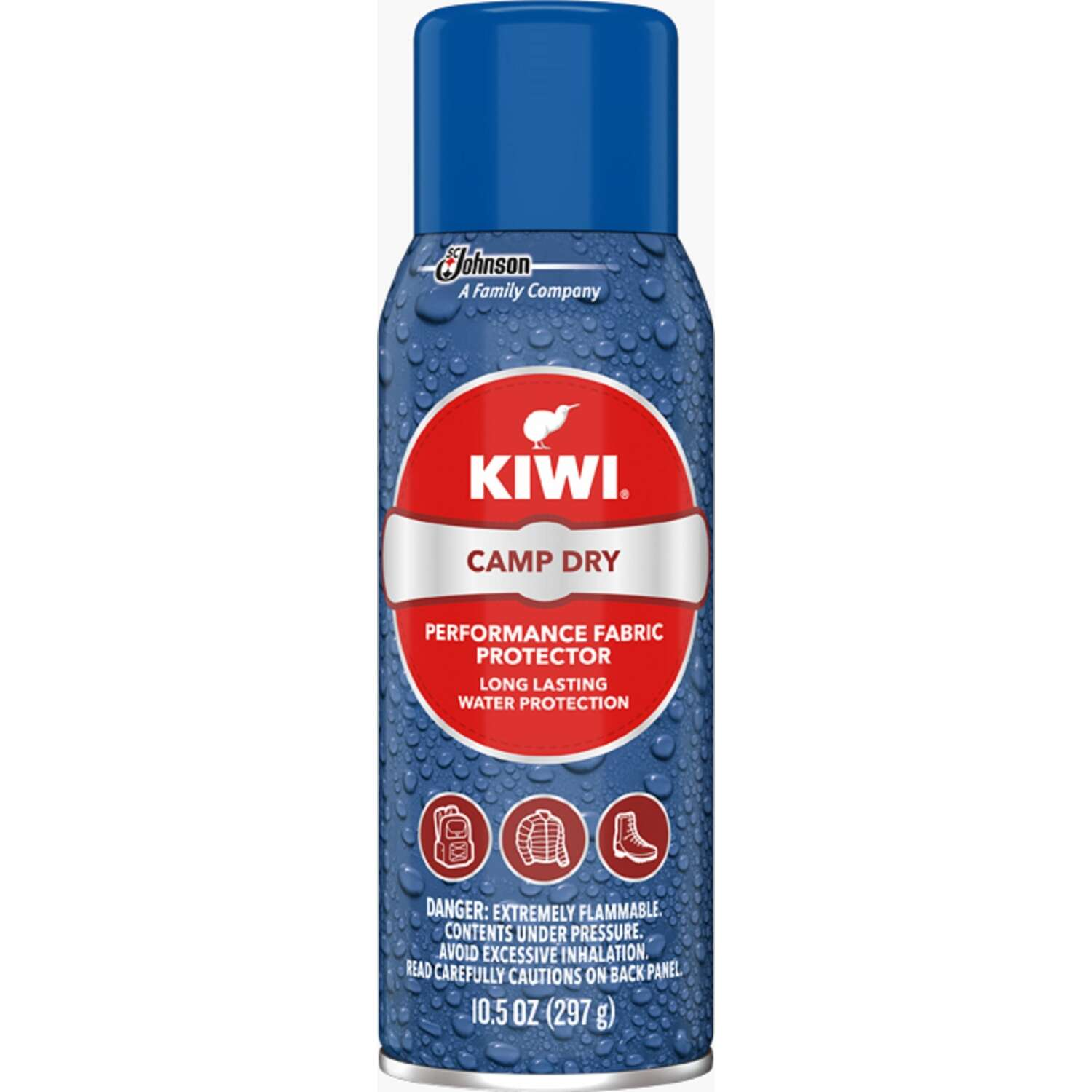 Kiwi  Clear  Camp Dry Fabric Protector  10.5 oz.