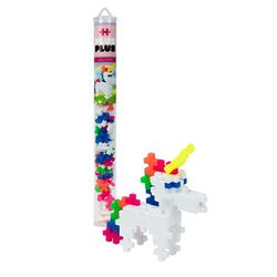 Plus-Plus Unicorn Building Toy Plastic Multicolored 70 pc.