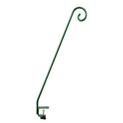 Audubon  Green  Steel  32.4 in. H Hang Bird Feeders  Plant Bracket  1 pk
