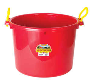 Little Giant  70 qt. Plastic Bucket  For Livestock