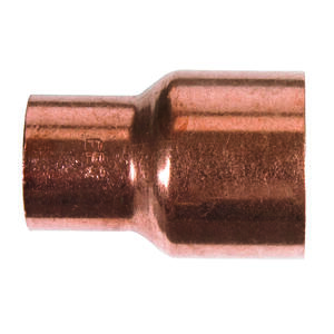 Mueller Streamline  1 in. Sweat   x 3/4 in. Dia. Sweat  Copper  Reducing Coupling