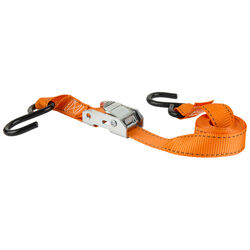 Keeper 1 in. W x 6 ft. L Orange Tie Down Strap 300 lb. 4 pk
