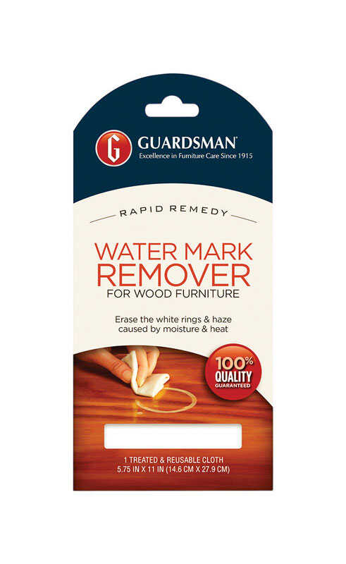 Guardsman  No Scent White Ring Remover  1 pk Wipes