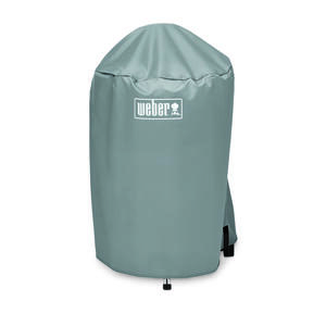 Weber  Gray  Grill Cover  20.5 in. W x 23 in. D x 35 in. H For 18 inch Weber charcoal grills