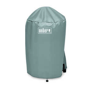 Weber  Gray  Grill Cover  20.5 in. W x 23 in. D x 35 in. H For Fits 18 inch Weber charcoal grills
