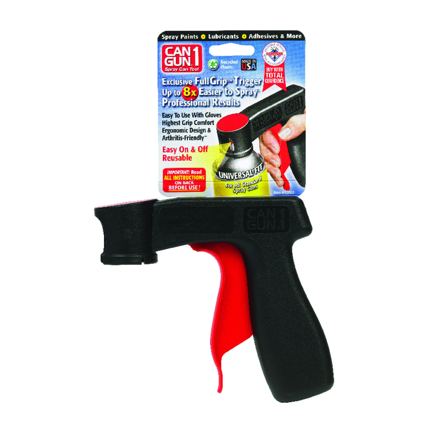 Can Gun  1  1 psi Recycled Plastic  Spray Gun