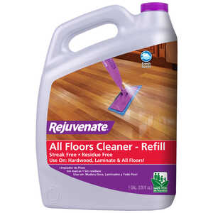 Rejuvenate  Clean Fresh Scent Floor Cleaner Refill  128 oz. Liquid