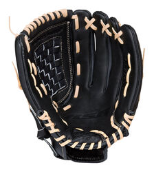 Rawlings  RSB Series  Black/Blonde  Leather  Right-handed  Baseball Glove  13 in.  1 pk