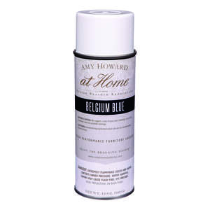 Amy Howard at Home  Gloss  Belgium Blue  High Performance Furniture Lacquer Spray  12 oz.
