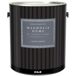 Magnolia Home by Joanna Gaines  Kilz  Satin  Base 3  House & Trim Paint  Exterior  1 gal.