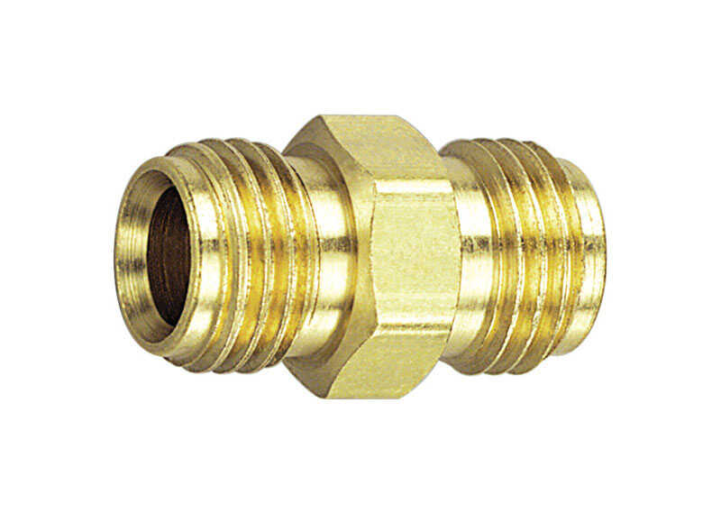 Tru-Flate  Brass  Ball-End Adapter  1/4 in. Male  1 pc.