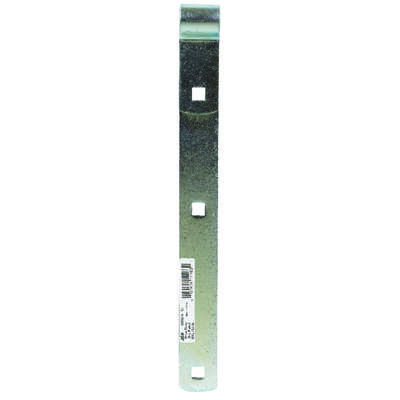 Ace  12 in. L Zinc-Plated  Steel  Hinge Strap  1 pk