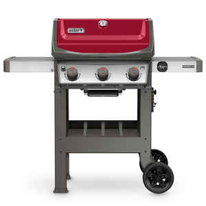 Weber  Spirit II E-310  3 burners Propane  Grill  Red  30000 BTU