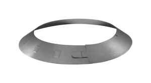 Duravent  6 in. Dia. 28 Ga. Galvanized Steel  Storm Collar