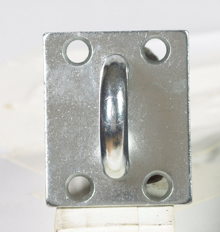 Ace  Zinc  2-1/4 in. L Fixed Plate Staple