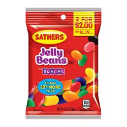 Sathers Brach's Fruity Jelly Beans 4-1/4 oz.