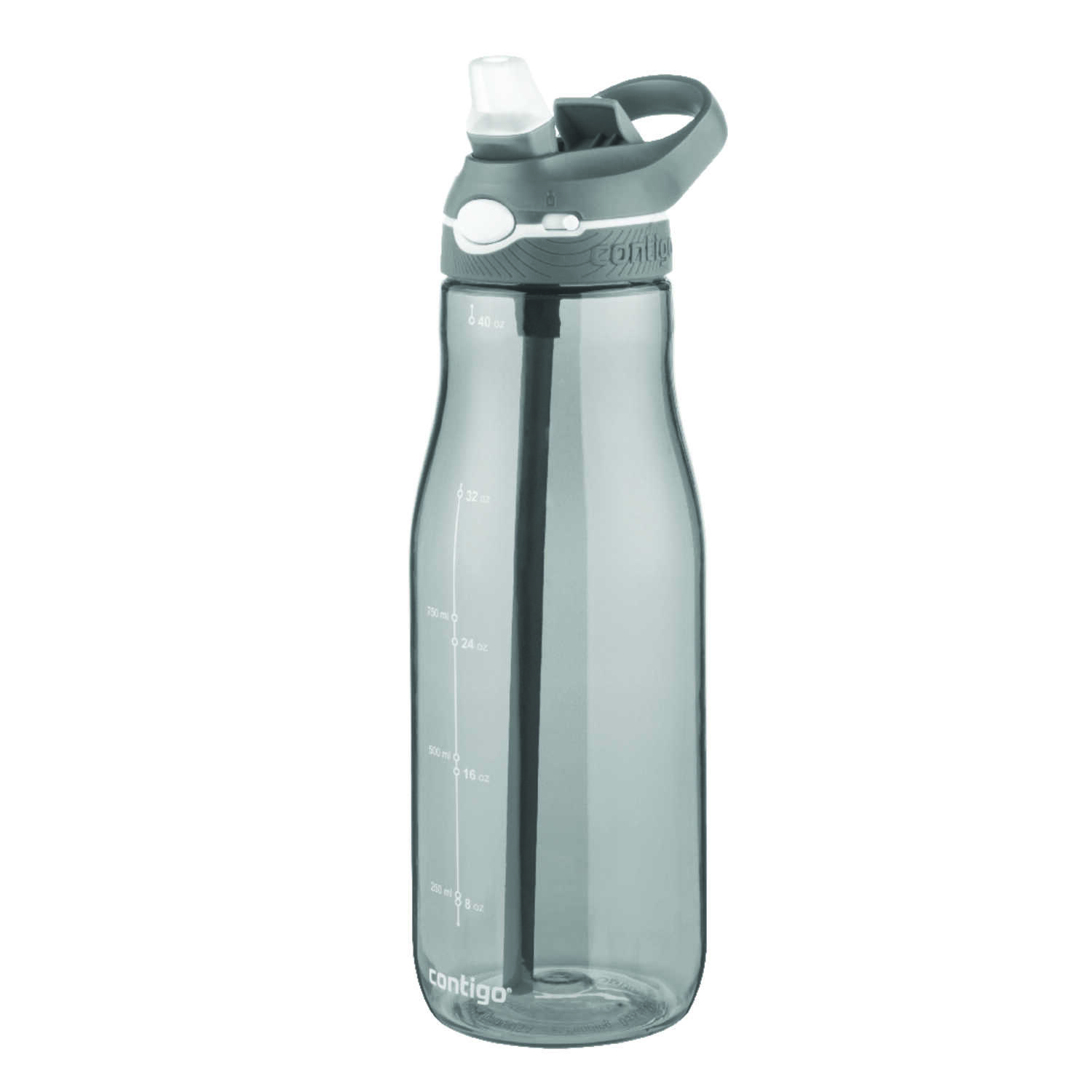 Contigo  40 oz. Ashland Autospout  Water Bottle  Smoke