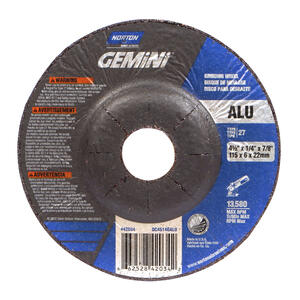 Norton  4-1/2 in. Dia. x 1/4 in. thick  x 7/8 in.   Grinding Wheel  1 pc.