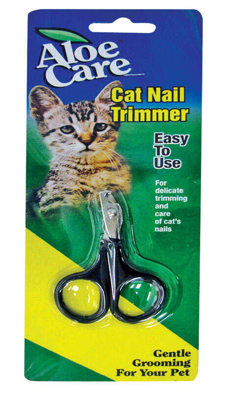Aloe Care  Black  None  Cat  Nail Clipper  1  1 pk