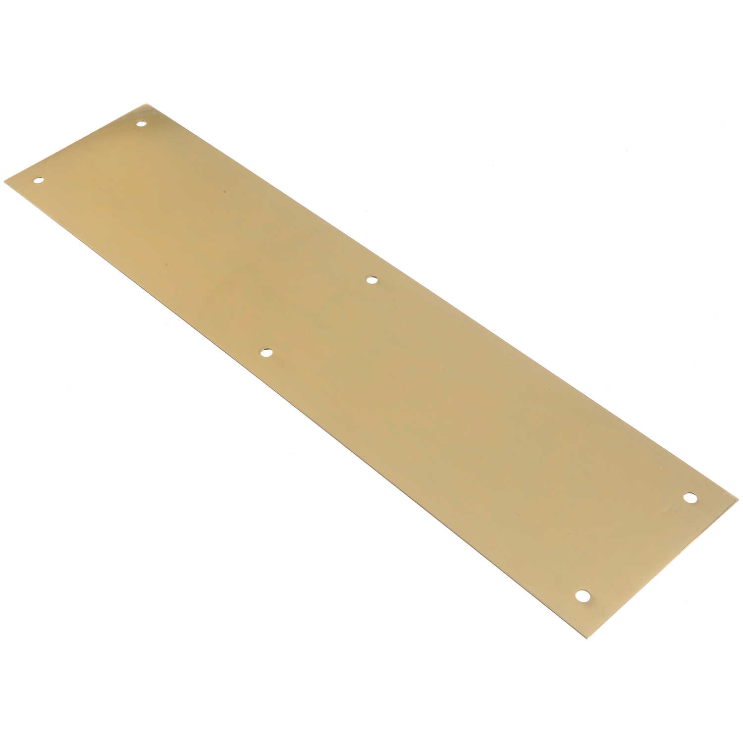 Ace  15 in. H x 3-1/2 in. L Bright Brass  Brass  Plate