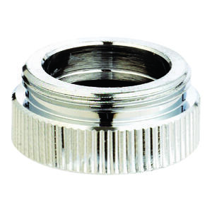 Ace  Chrome  13/16 in.  x 55/64 in.  Aerator Adapter  1 pack