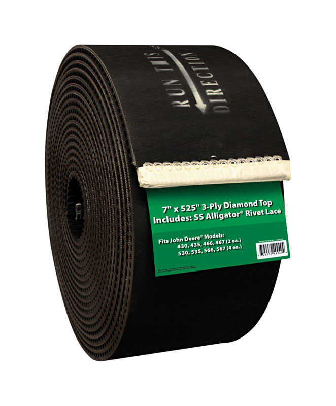Apache  Ribbed  Baler Belt  For Hay Balers
