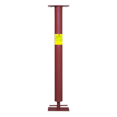 Marshall Stamping Extend-O-Columns 3 in. Dia. x 88 in. H Adjustable Building Support Column 16800