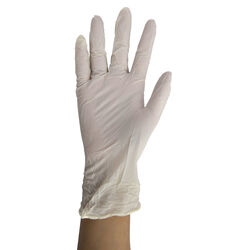 Vertek  Nitrile  Disposable Gloves  Medium  White  100 pk