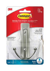 3M  Command  Large  Plastic  Hook  4.03 in. L 1 pk