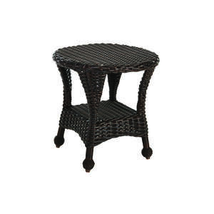 Northcape  Round  Brown  San Benito  Round  End Table