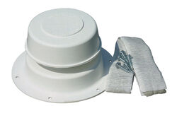 Camco  Plumbing RV Vent Kit  1 pk