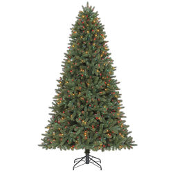 Celebrations  7-1/2 ft. Grand Fir  Prelit 1000 count Artificial Tree