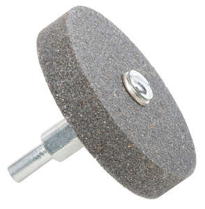 Forney  2-1/2 in. Dia. x 1/2 in. thick  Mounted Grinding Wheel  3450 rpm 1 pc.