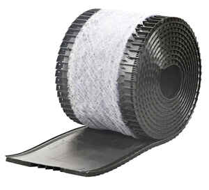 Air Vent  20 in. H x 13.3 in. W x 14.5 in. L Rolled Shingle Over Ridge Vent with Filter