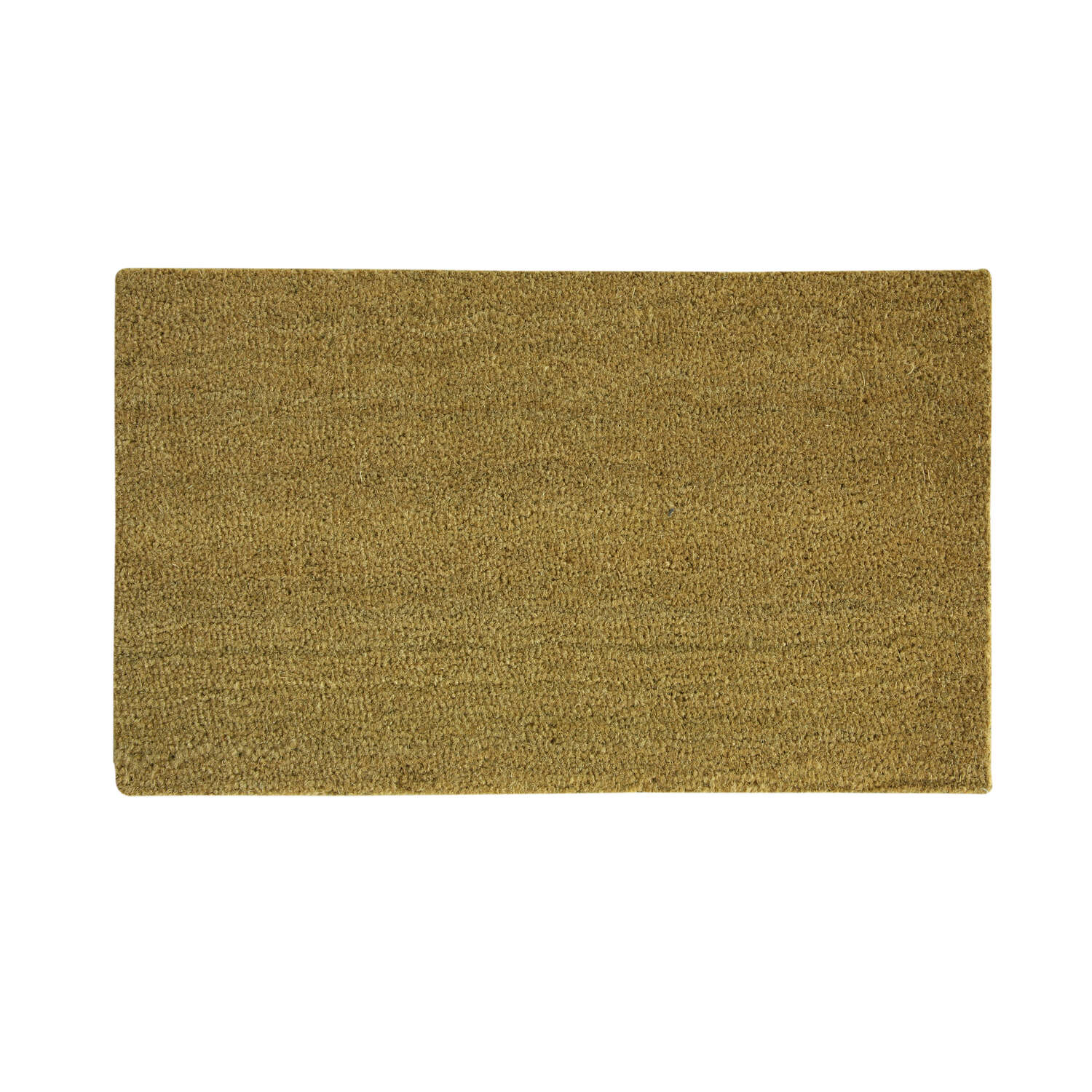 Sports Licensing Solutions  Blank  Tan  Coir  Nonslip Door Mat  36  L x 24  W