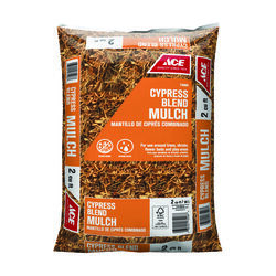 Ace  Brown  Cypress Blend  Mulch  2 cu. ft.