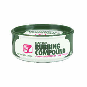 Pidilite  No. 7  Paste  Polishing Compound  For Restoring Badly Weathered Finishes 10 oz.