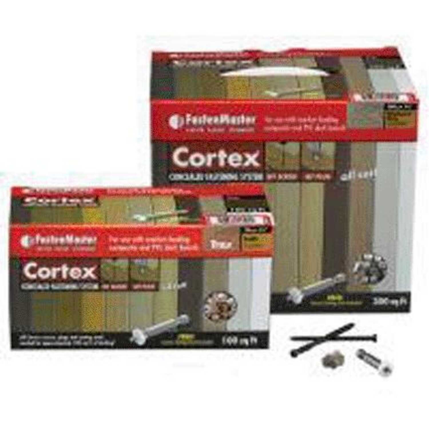 FastenMaster  Cortex  2-3/4 in. L Torx TTAP  Star Head Vintage Lantern  Stainless Steel  Hidden Deck