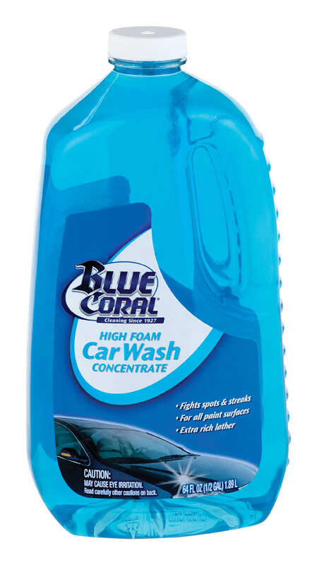 Blue Coral  Concentrated Foam  Car Wash Detergent  64 oz.