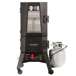 Masterbuilt  Adventure Series  Propane  Vertical  Smoker  Black