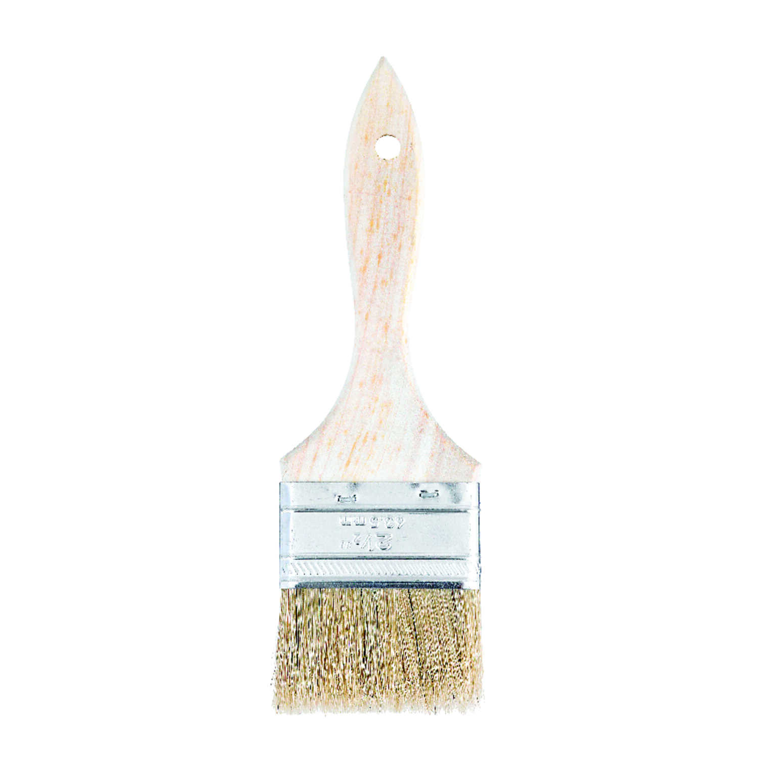 Linzer  2-1/2 in. W White China Bristle  Paint Brush  Flat