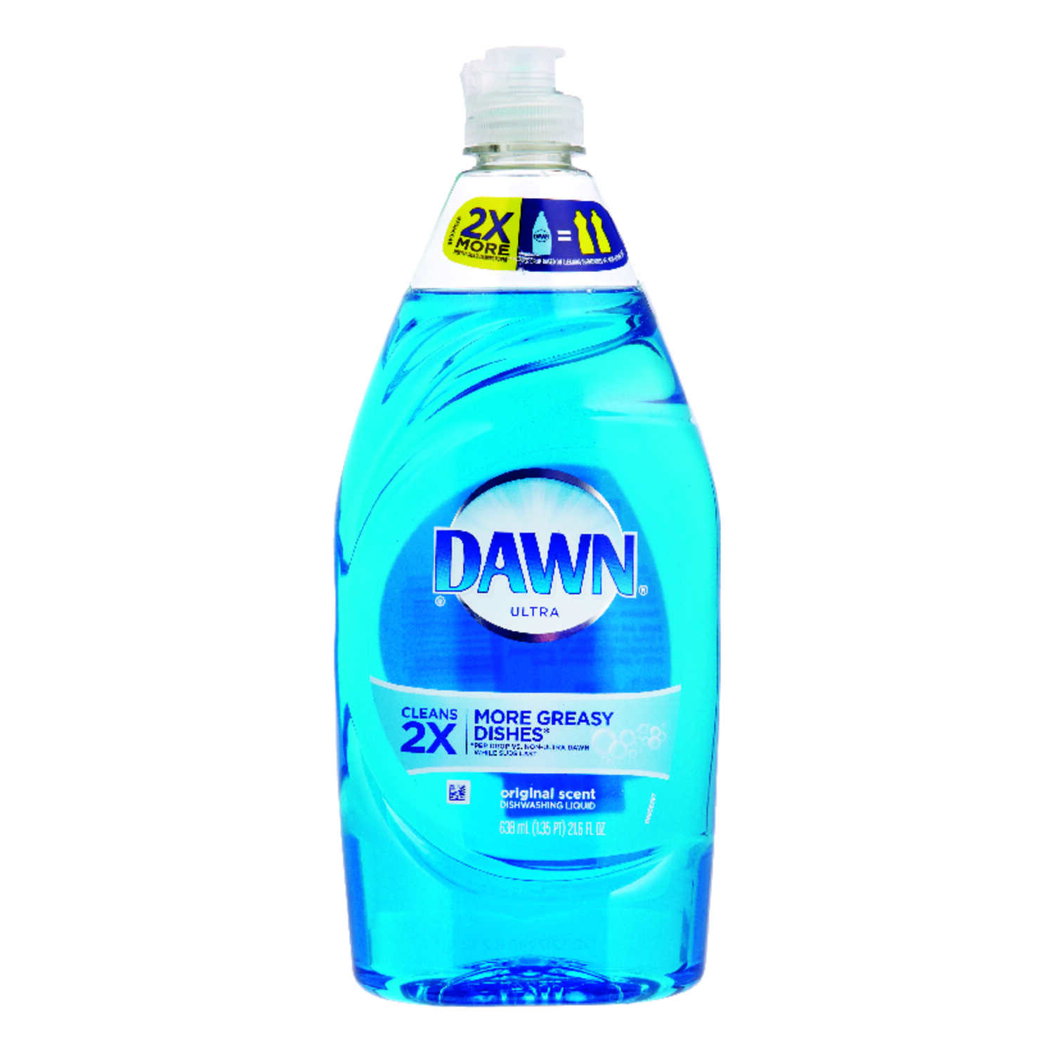Dawn  Ultra  Original Scent Liquid  Dish Soap  21.6 oz.