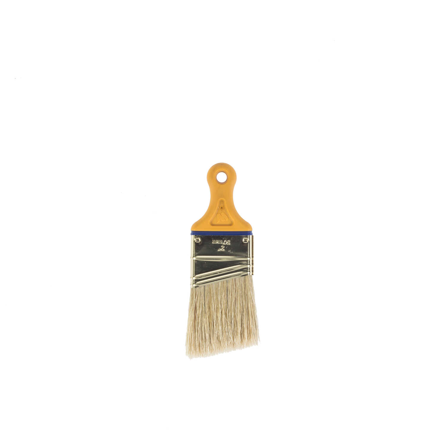 Wooster  Shortcut  2 in. W Angle  White China Bristle  Artist Paint Brush