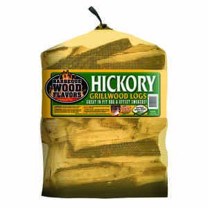 Barbeque Wood Flavors  Hickory  Cooking Logs  1 cu. ft.